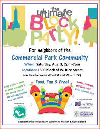 Block Party Flyers Templates 4 Block Party Flyer Template Bookletemplate Org