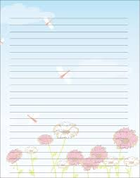 Lined Letter Writing Paper Delectable Free Printable Kids Mother's Day Writing Paper Description From