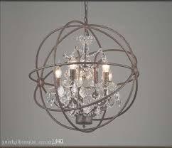 rh industrial lighting restoration hardware vintage crystal regarding industrial crystal chandelier gallery 1 of