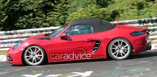 2018 porsche boxster 718 gts. contemporary 2018 if the prefacelift boxster gts is anything to go by these elements should  be a close approximation of what weu0027ll see on production model and 2018 porsche boxster 718 gts