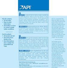Api 5 In 1 Freshwater Saltwater Aquarium Test Strips 25 Count