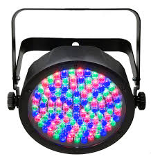 Chauvet Par 56 4 Light System Chauvet Dj Slimpar56 108x0 25w Rgb Led Par Can Full
