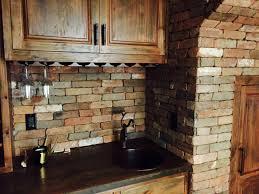 reclaimed thin brick veneer thin brick veneer brick backsplash regarding reclaimed brick veneer measurement the reclaimed
