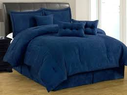 suede comforter sets incredible 7 solid navy blue micro suede comforter set cal king size new suede comforter sets