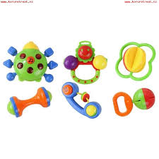 6 pcs baby kids educational toy plastic al instrument hand ring bell shaking toy for over 3 months old es intl 5bqzakpv