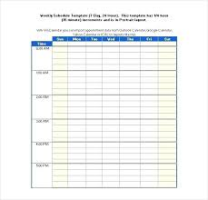 schedule creater weekly schedule creator hourly class schedule maker template