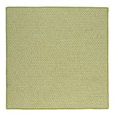 sa lime 12 ft x 12 ft indoor outdoor braided area rug
