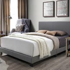 bed frame with headboard. Wonderful Headboard Colwell Queen Upholstered Panel Bed With Frame Headboard