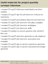 14 useful materials for project quantity surveyor quantity surveyor resume
