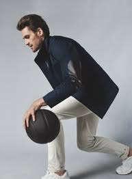 Image result for kevin love banana republic jacket
