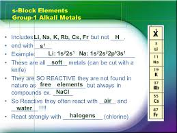 The Periodic Table Classification And Trends. The s-, p-, d-, and ...