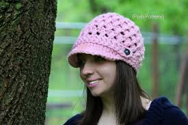 Crochet Newsboy Hat Pattern Unique Newsboy Hat Crochet Pattern Cross Stitch Visor Hat