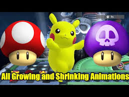 Growing And Shrinking All 51 Characters Growing And Shrinking Animations In Super
