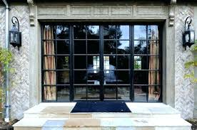 black french doors patio. Simple Patio Black French Doors Charming Metal Steel Exterior With Ste In Black French Doors Patio E