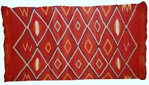 antique handmade native american navajo rug 1870s 2
