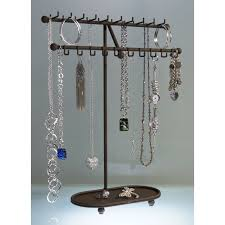 Hanging Necklace Organizer Best Jewelry Organizer Ideas Best Home Decor Inspirations