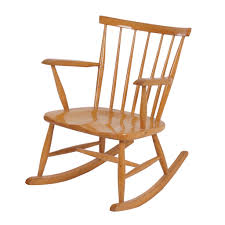 vintage 60s furniture. Vintage Birch Wood Rocking Chair From The 60s | Mid Century Design Furniture S