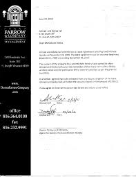 Property Management Agreements 24 Luxury Termination Service Agreement Letter Sample Pictures 24