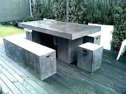 concrete round table outdoor concrete table patio round tables and benches cement garden concrete concrete round table
