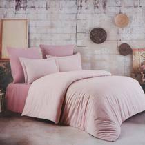 <b>Постельный комплект Colors</b> of Fashion king size crincle pink aft ...
