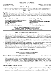 Resume Examples For Military To Civilian Military Resume Samples