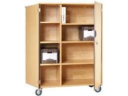 wood storage cabinets with locks. mobile storage cabinet with doors 6 shelves w/partition wood cabinets locks r