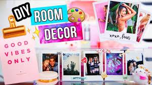 Diy Room Decorations Diy Room Decor Ideas 2017 Youtube