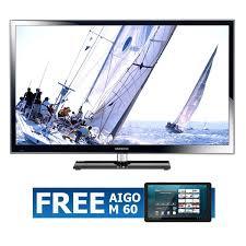 samsung tv 5 series. samsung series 5 ps51e550 full hd 3d plasma tv 51\u201d black + free aigo m60 tablet | lazada malaysia tv