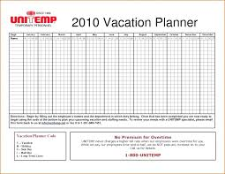 Planner Schedule Template Vacation Planning Calendar Template Leave Planner Free Staff Annual