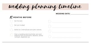 Wedding Coordinator Checklist 11 Free Printable Wedding Planning Checklists