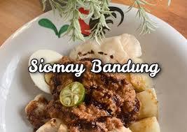 Siomay merupakan salah satu makanan ringan yang selalu dijadikan pilihan ketika sedang ingin ngemil. Resep Siomay Bandung Ikan Tenggiri Gampang No Gagal Anti Gagal Aneka Ragam Resep