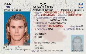 License Fake Scotia Ids ns - Id Nova Driver's Idviking Scannable Best