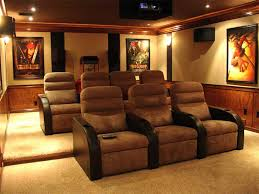 Home Theater Design Decor home theater seating and decor TrellisChicago 7