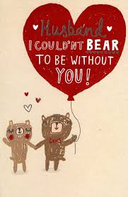 Details About Cute Husband Valentines Day Greeting Card Lovely Valentines Cards