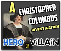 best world history early americas images aztec  christopher columbus hero or villain students investigate his legacy dbq
