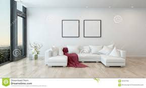 contemporary living room furniture. Download Red Throw On White Sofa In Modern Living Room Stock Illustration -  Of Blank Contemporary Living Room Furniture W