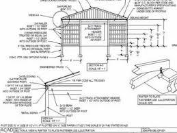 30 x 40 pole barn plan you