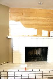 diy brick fireplace mantel redo 9 diy outdoor brick fireplace plans