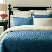 quilt sets white and solid big blue colored combine in square big blanket also rectangle