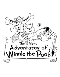 Winnie The Pooh Coloring Pages Bing