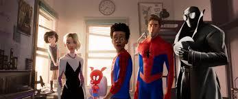spider man into the spider verse cast