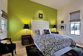 bedrooms with green walls
