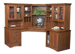 home office computer furniture. office desk with hutch large corner computer bookcase home solid wood furniture