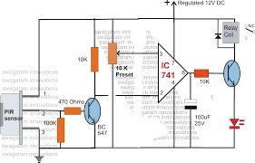 ir motion sensor circuit diagram images pir motion sensor circuit passive infra red pir sensor pinouts datasheet application note
