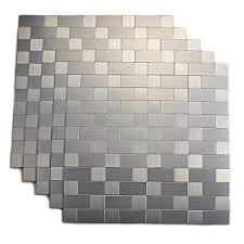 Install Backsplash Interesting Amazon Top Mosaic Peel And Stick Tile Backsplashes Stainless