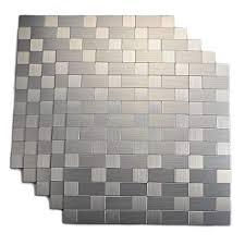 Removing Tile Backsplash Mesmerizing Amazon Top Mosaic Peel And Stick Tile Backsplashes Stainless