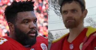 kansas city chiefs jeff allen dave homeless man who helped pull nfl player s car out of snow gets big reward from nfl player cbs news