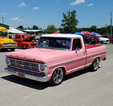 Ford F-100 Tough enough to wear pink | Ford Trucks 1967-72 | Small ...