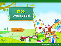 how to draw flowers kids color fly