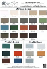 Metal Sales Color Chart Best Picture Of Chart Anyimage Org